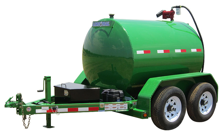 "2016 Load Trail 60"" X 10' 750 Gallon Tandem Axle Fuel Tank"