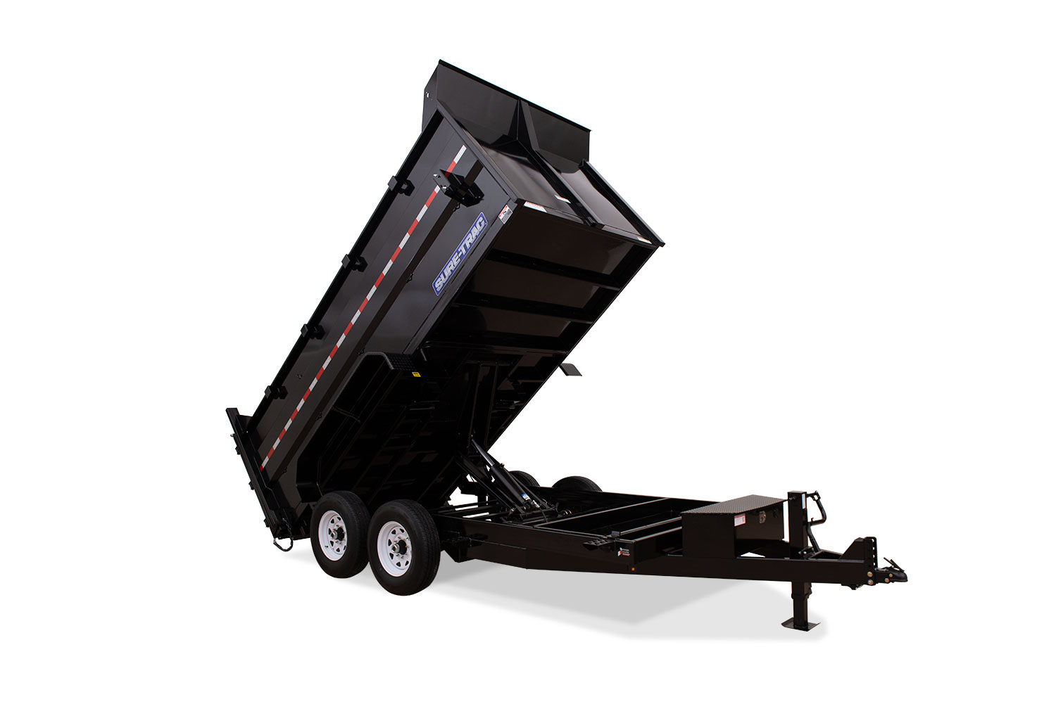 2021 Sure-Trac 82 IN X 14 LP 14K Telescopic 4ft Side Du