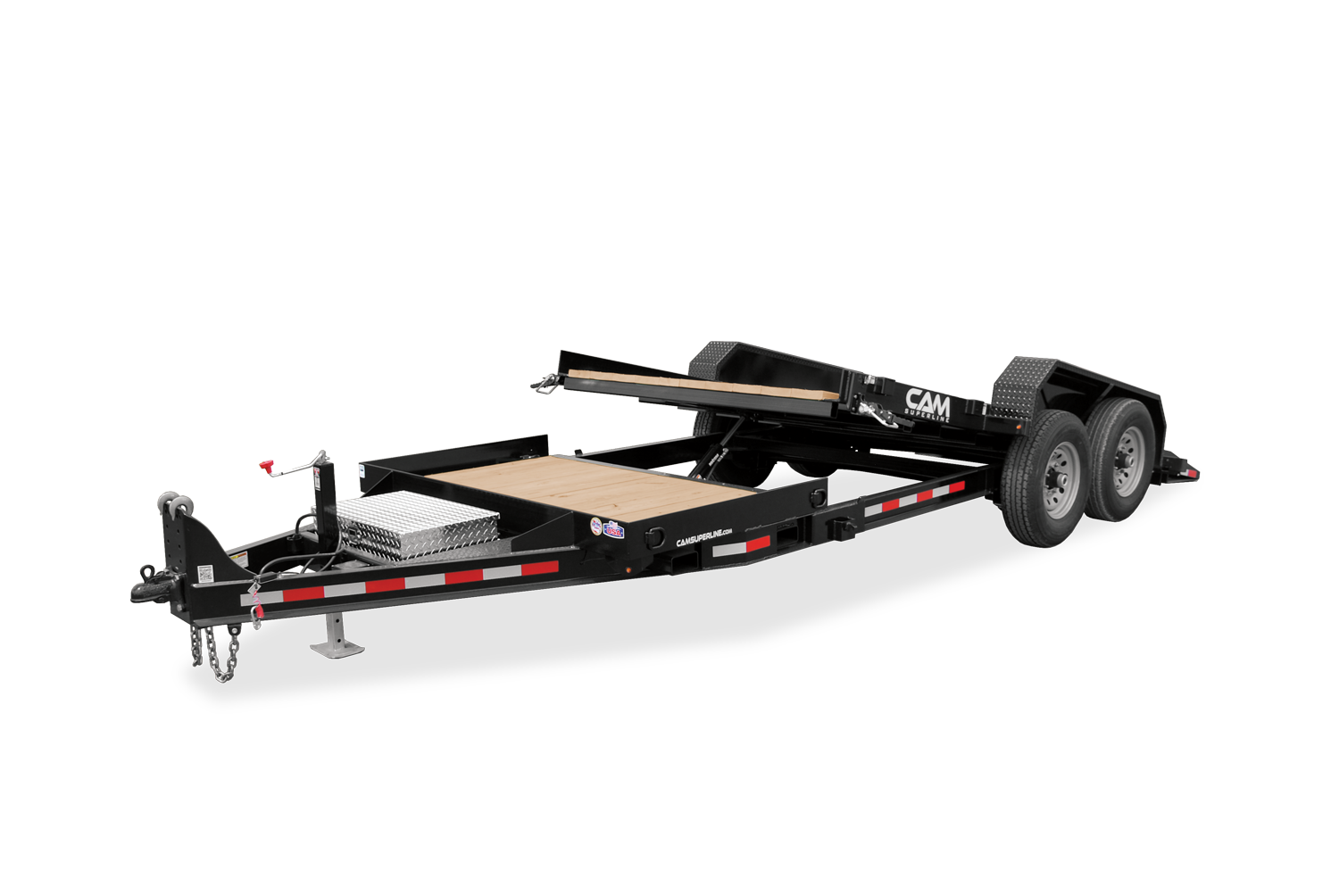 2021 Cam Superline 6 Ton Tilt Trailer Split Deck 8.5 x 15+4