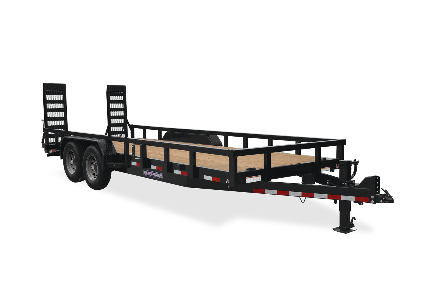 2021 Sure-Trac 7x22 Heavy Duty Equipment Trailer  14K