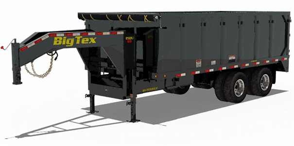Big Tex Trailers 25DU-18