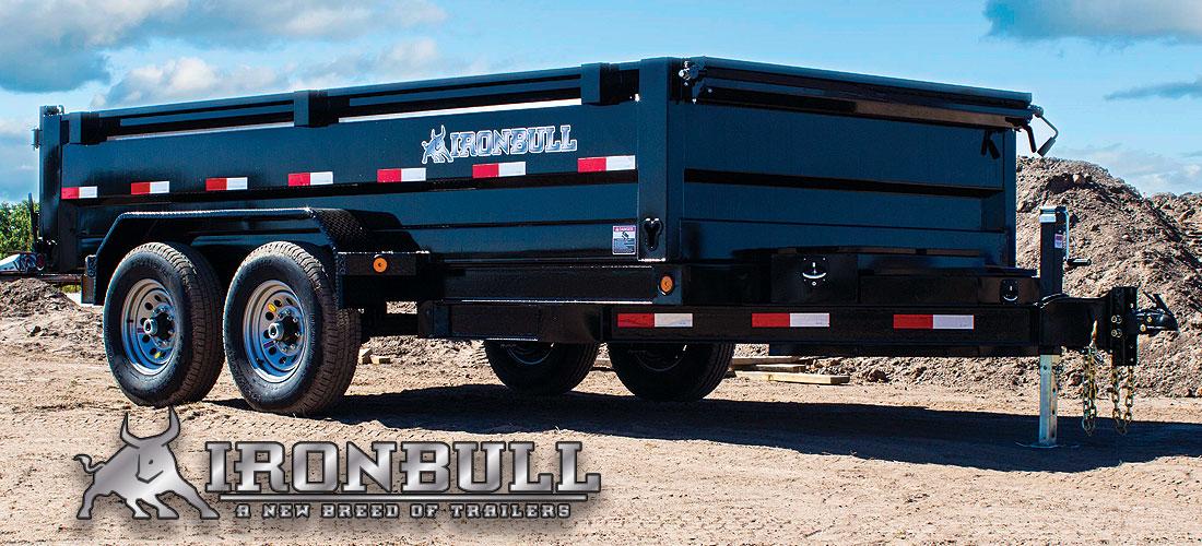 Iron Bull DT14 - 14,000lb GVWR Tandem Axle