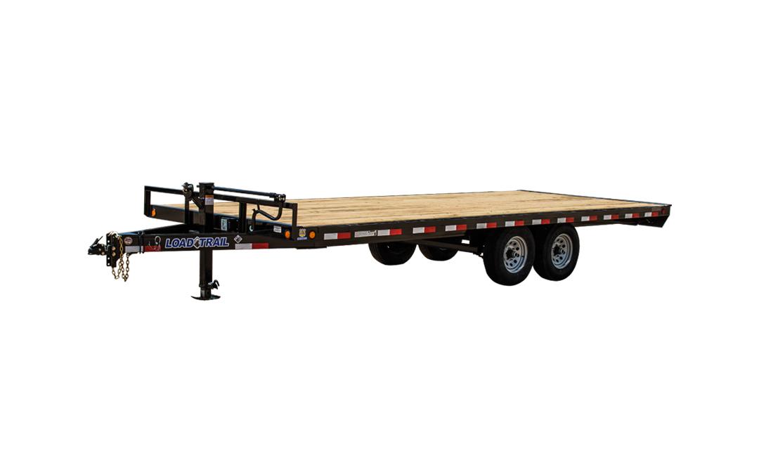 Load Trail DK10 - Pintle Hook Deck Over 102 x 16
