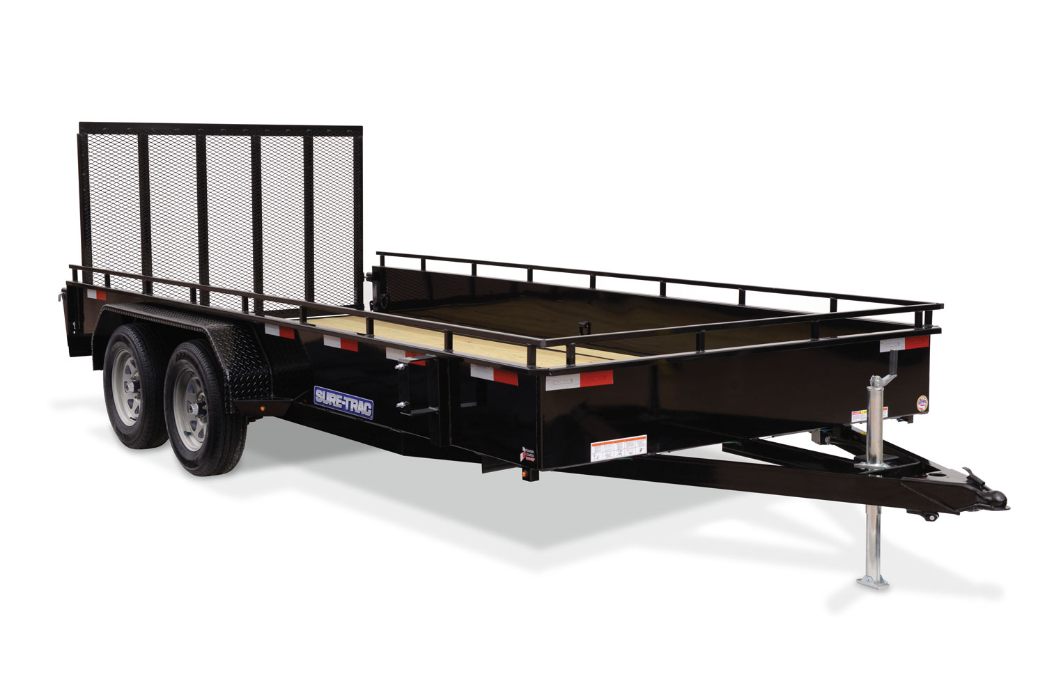 2021 Sure-Trac 7 X 14 Steel High Side  7K Tandem