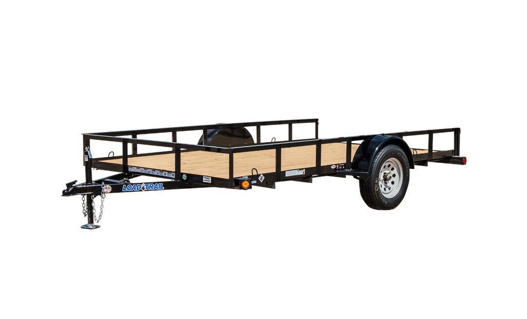 "83"" X 14' SINGLE AXLE (2"" X 3"" ANGLE FRAME)"