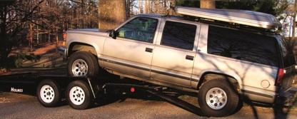 """Holmes 6'10"""" x 16' 7k Car Hauler"""