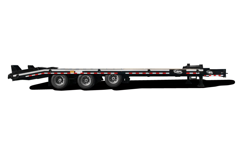 """2021 Cam Superline 25 Ton Deckover Heavy Duty Trailer 102"""" X 24' FLAT + 7' 6"""" DOUBLE BREAK B/T."""