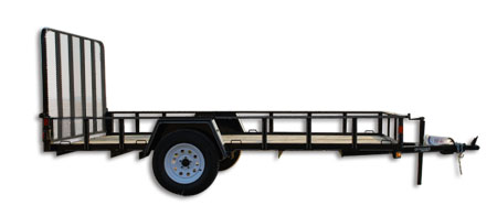 Golden Single Axle Utility Trailer