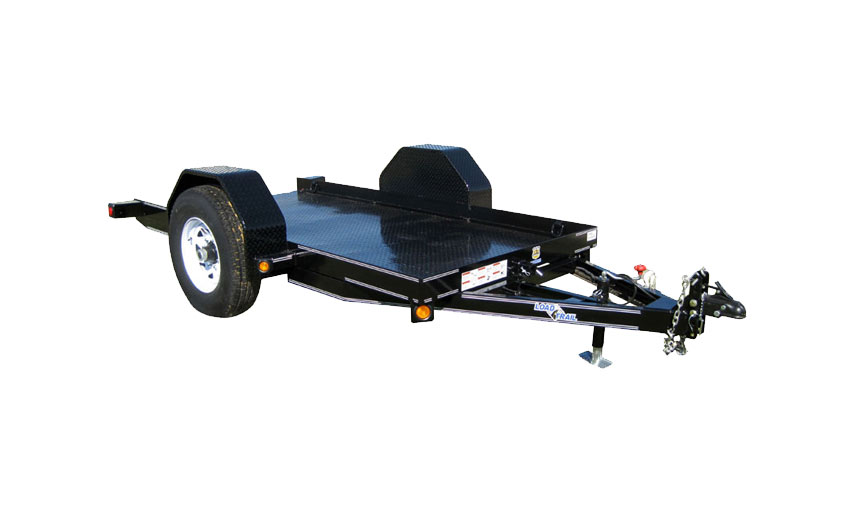 "77"" X 12' SINGLE AXLE SCISSOR HAULER"