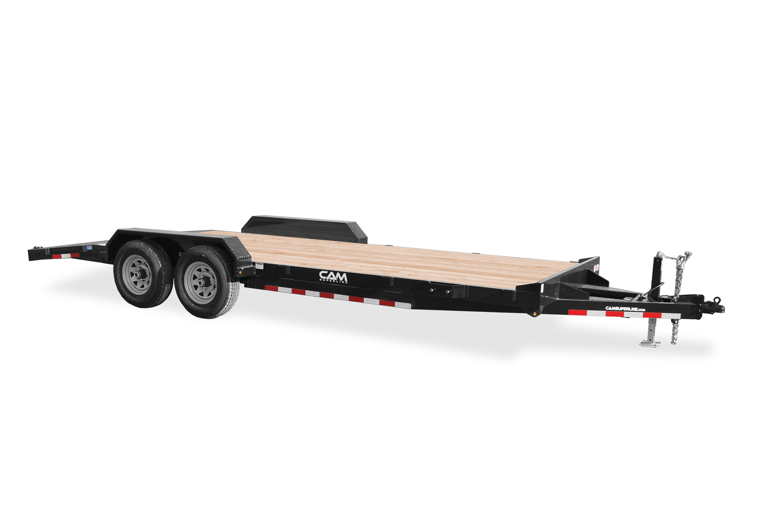 2021 Cam Superline 5 Ton Car Hauler Trailer 20FT Wood Deck