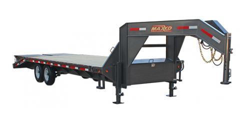 MAXXD GSX - Single Wheel Flatbed Gooseneck
