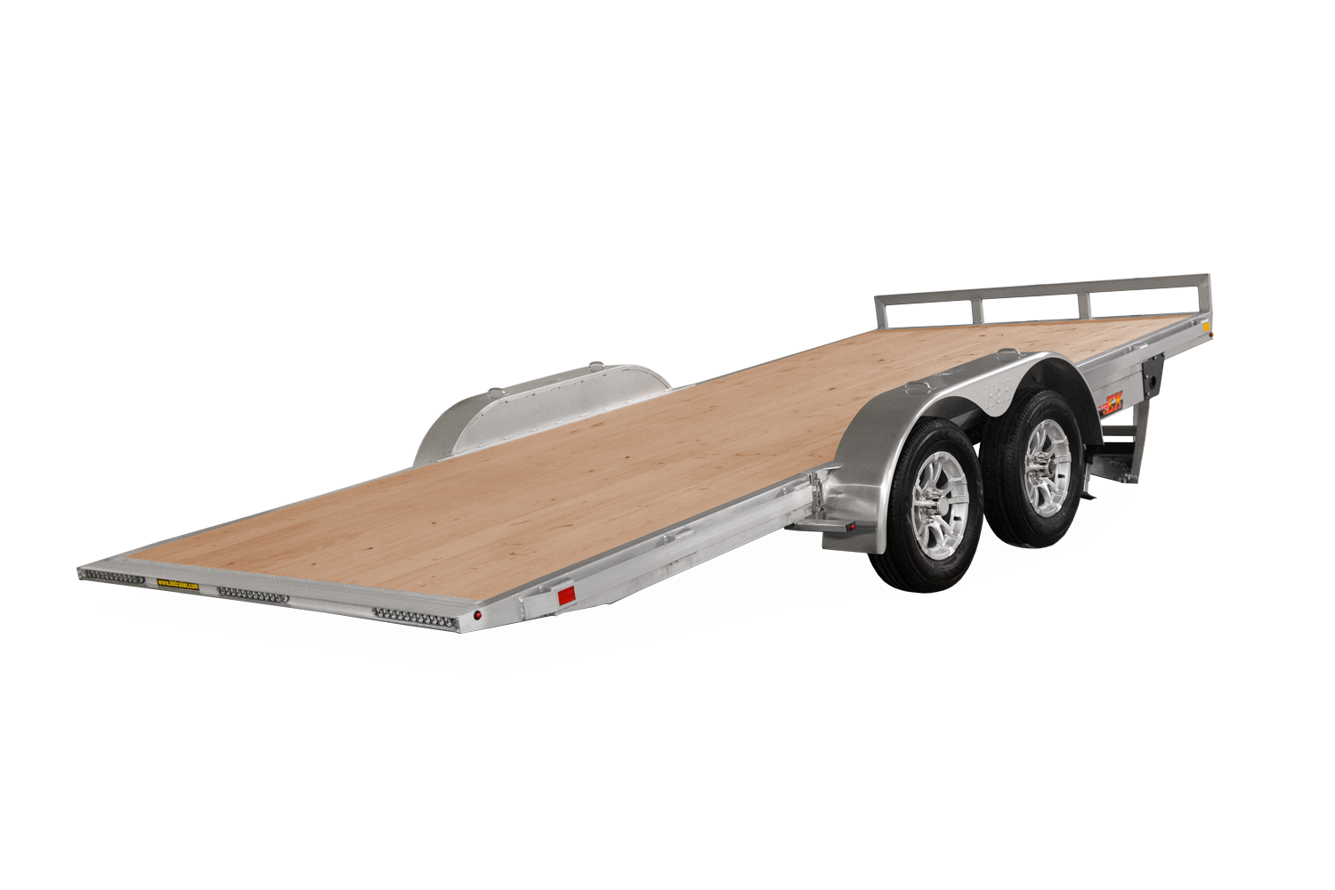 Sure-Trac 82x18 Electric Alum Tilt Car Hauler