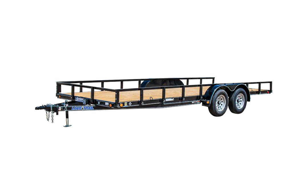 "77"" X 14' TANDEM AXLE UTILITY (4"" CHANNEL FRAME)"