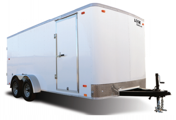 2021 Impact Trailers Shockwave Slope V-nose Cargo / Enclosed Trailer