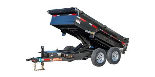 "MAXXD D6X - 60"" Scissor Lift Dump Trailer"