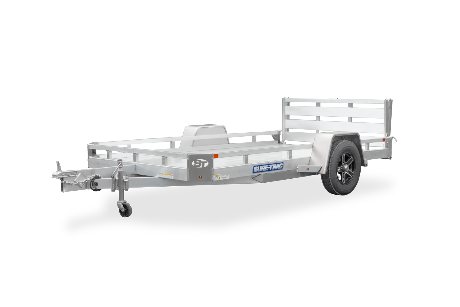 2021 Sure-Trac 7 X 12 Aluminum Low Side Utility  3K