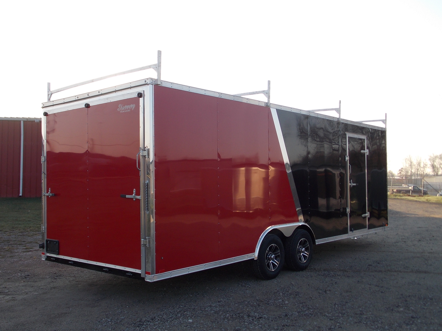 Discovery Trailers 8.5x14TA35 Challenger S.E. Flat Top Trailer