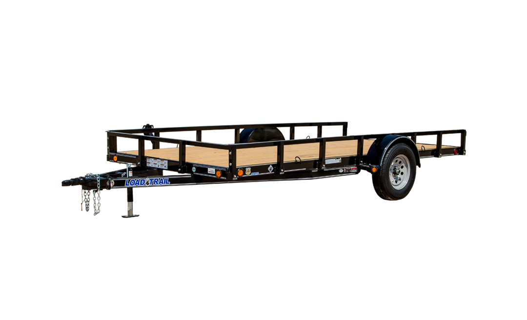 "77"" X 14' SINGLE AXLE (4"" CHANNEL FRAME)"