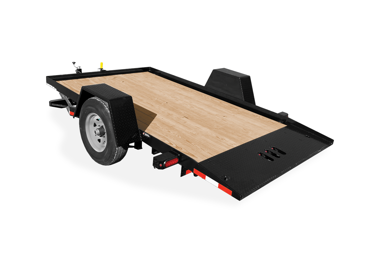 2022 Cam Superline 3 Ton 6' Wide x 12' Long Single Axle Tilt Trailer