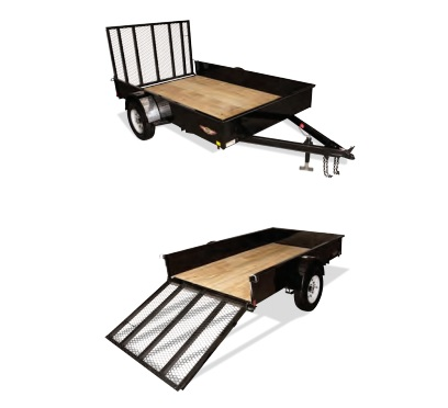 2020 H and H Trailer 60X10 STEEL SOLID SIDE 3.5K