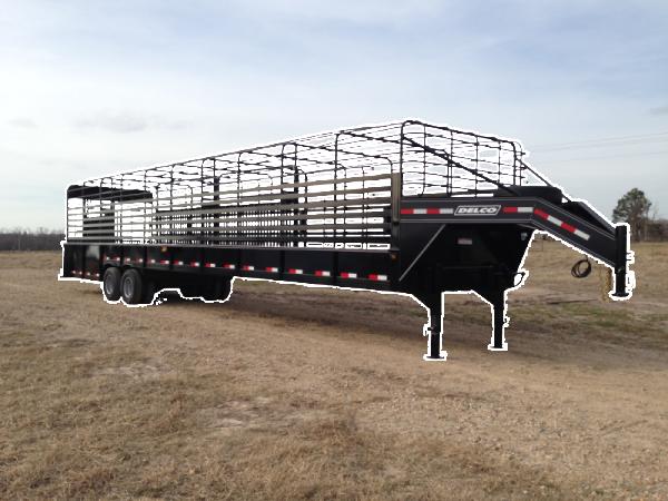 Delco Trailers Groundload Livestock