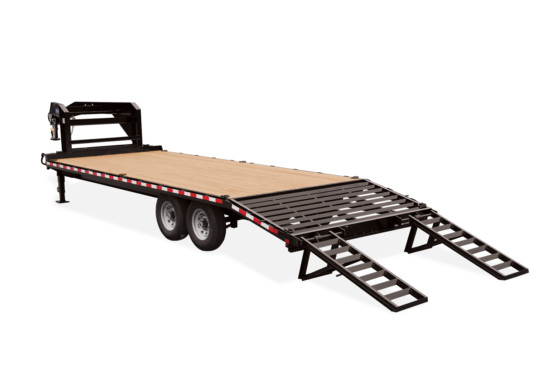 2021 Sure-Trac 8.5 x 20+4 Standard Duty Gooseneck Beaver tail trailer
