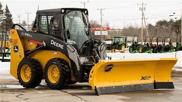 """Fisher Engineering 8' 7"""" Skid-Steer Plow"""