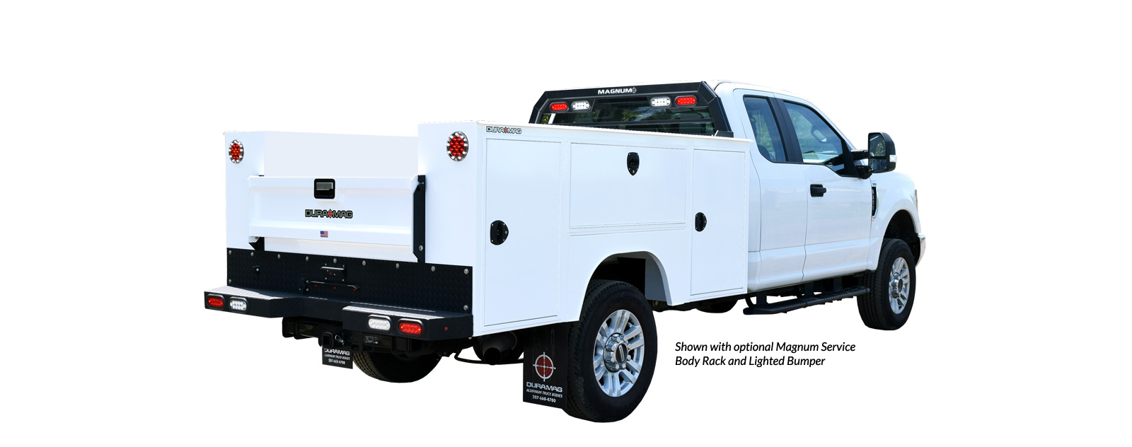 F3 Manufacturing S-Series Service Bodies - Dual Rear Wheel - 9' - Cab Chassis - Universal Fit