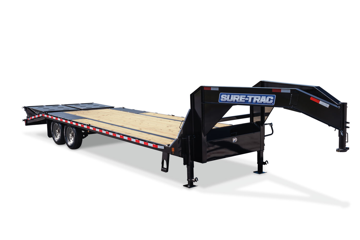 2020 Sure-Trac 8.5x30+10 LowPro Hyd Deckover Tandem GN