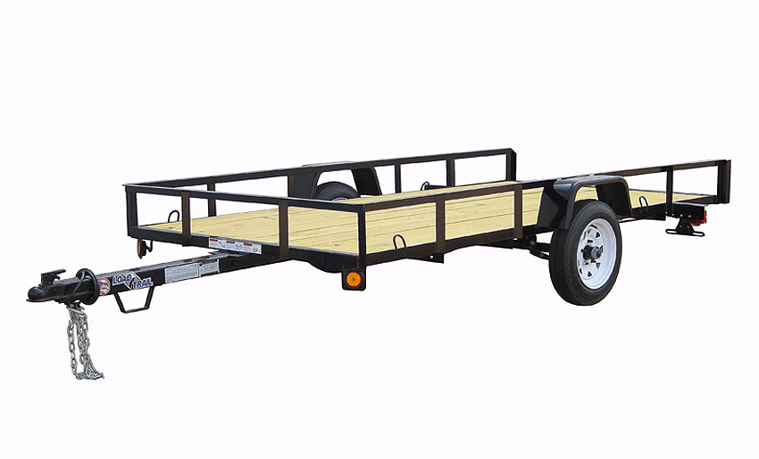 "2015 Load Trail 48"" X 10' Single Axle"