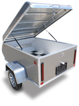 Mission MMT 4X6 - All Purpose Motorcycle Trailer