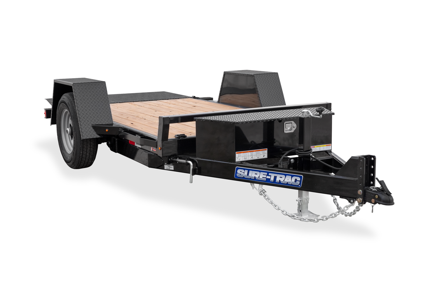 2021 Sure-Trac 62 IN x 10 Single Axle Tilt Bed Equipmen