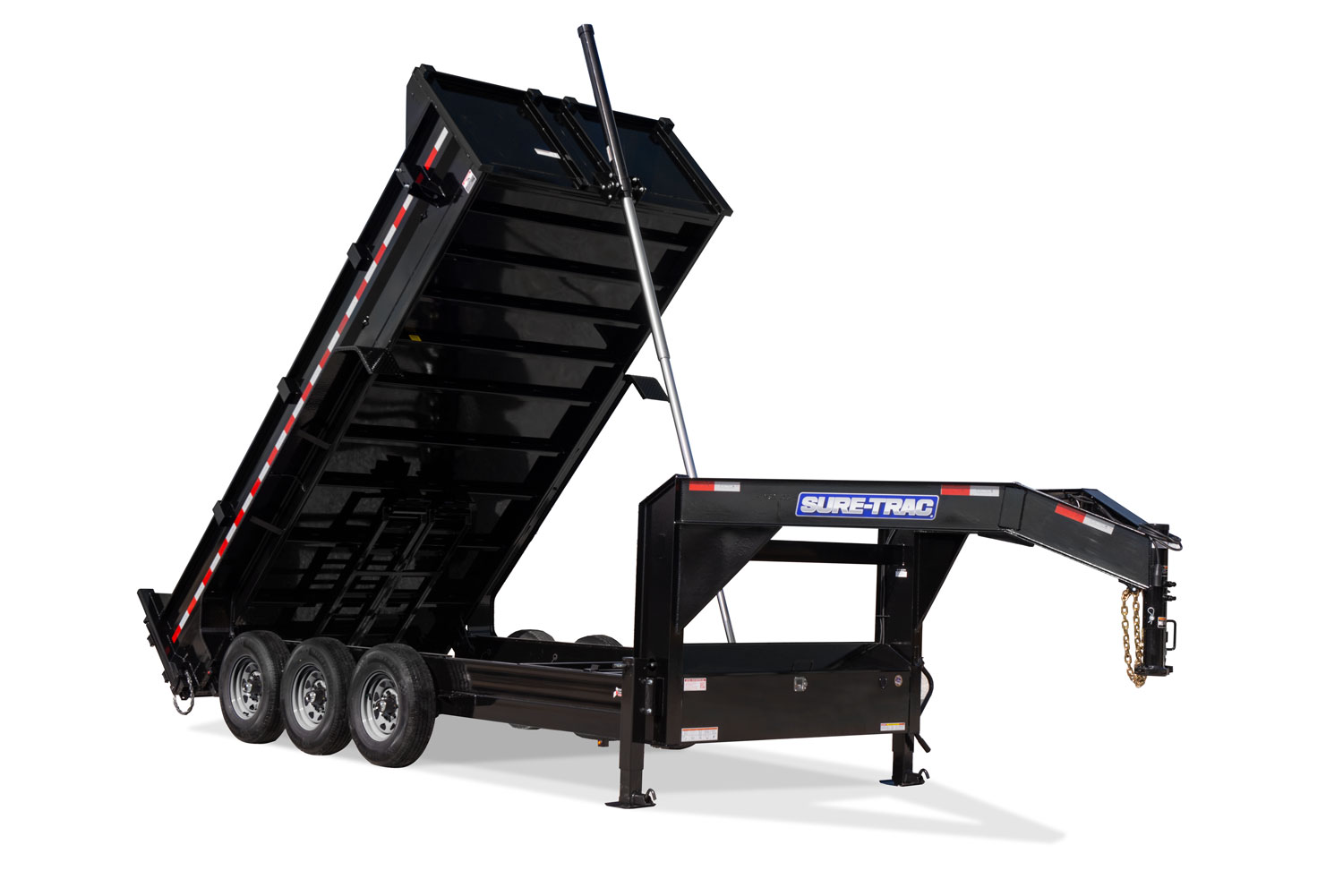 2021 Sure-Trac 82 IN x 16 HD Low Profile Gooseneck Tri-