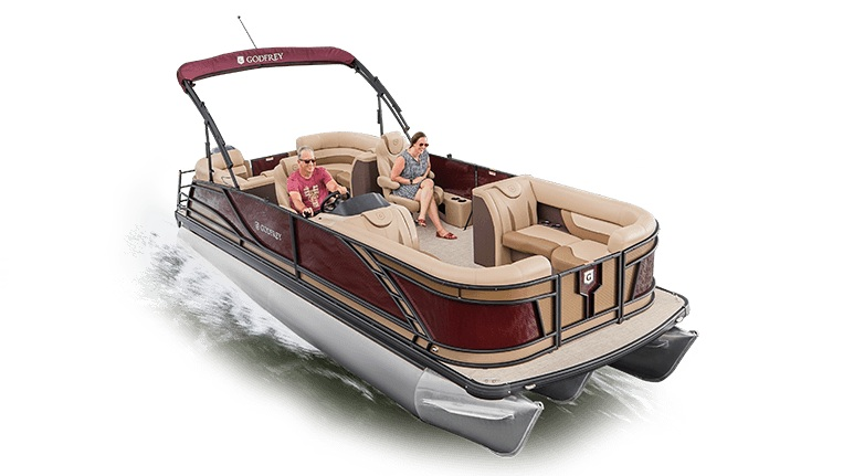 Godfrey Pontoon Boats 255 SB