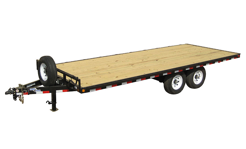 "2018 Load Trail 102"" X 18' Deck Over Pintle Hook Equipment Trailer"