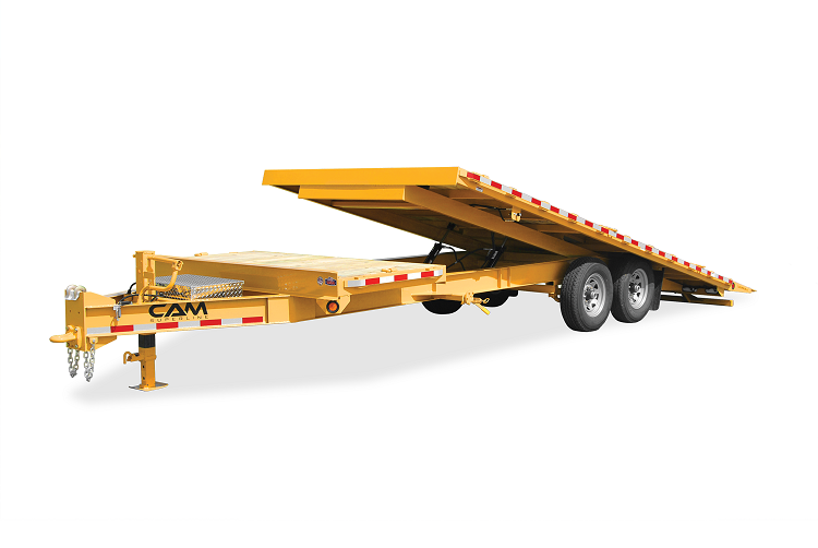 2021 Cam Superline 7 Ton Deckover Split Tilt Trailer 8.5 x