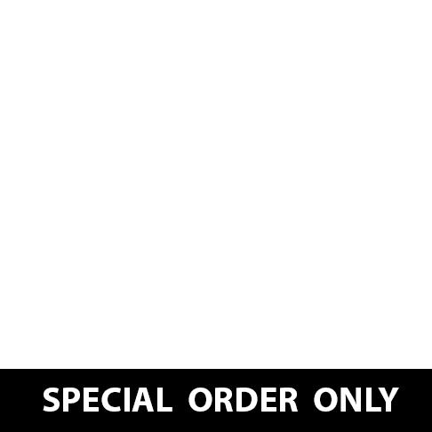 "Red 6'x12' Hero Enclosed Cargo Trailer Ramp Door & 6"" Extra High"