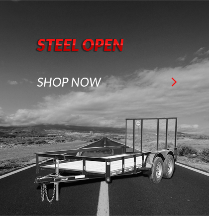 H&H Steel Open Trailers For Sale