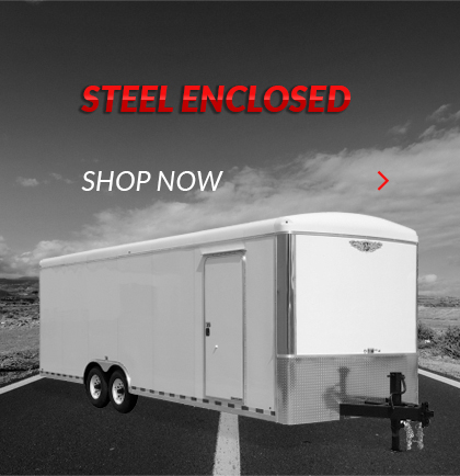 H&H Steel Enclosed Trailers For Sale