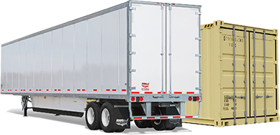 Lease trailers and storage containers in Hampden, ME