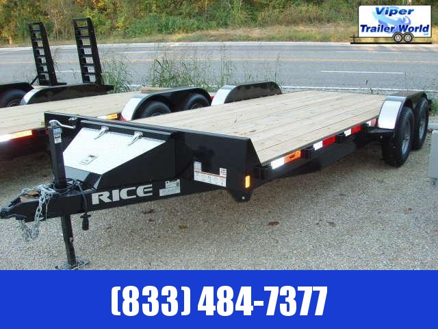 2021 Rice Trailers 10k Magnum Car Haulers Car / Racing Trailer