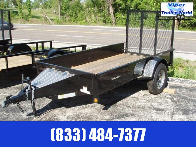 2021 Rice Trailer | 5' x 8' Stealth Utility
