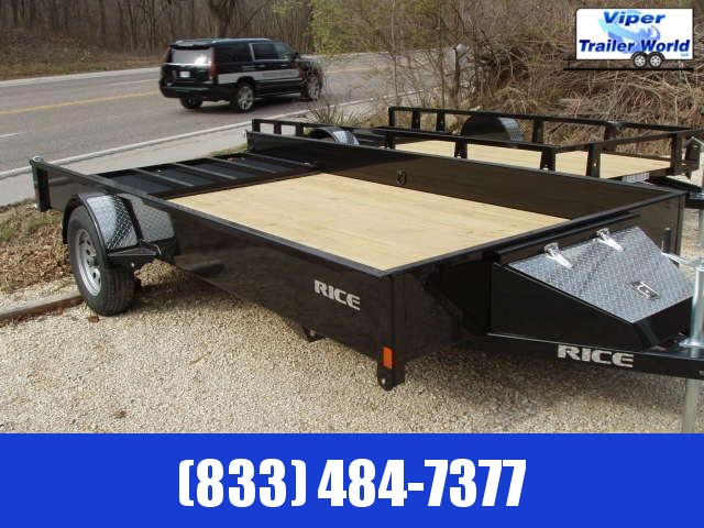 2021 Rice Trailers 76X14 Trailers Utility Trailer