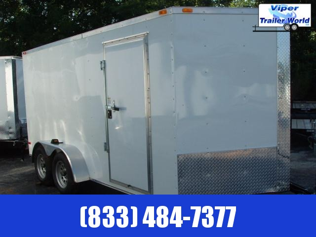 2021 Triple R 7X14 TA Enclosed Cargo Trailer
