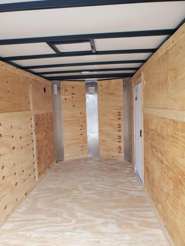"2021 Arising | 6 X 10 SA V-Nose Ramp 6'3"" Interior"
