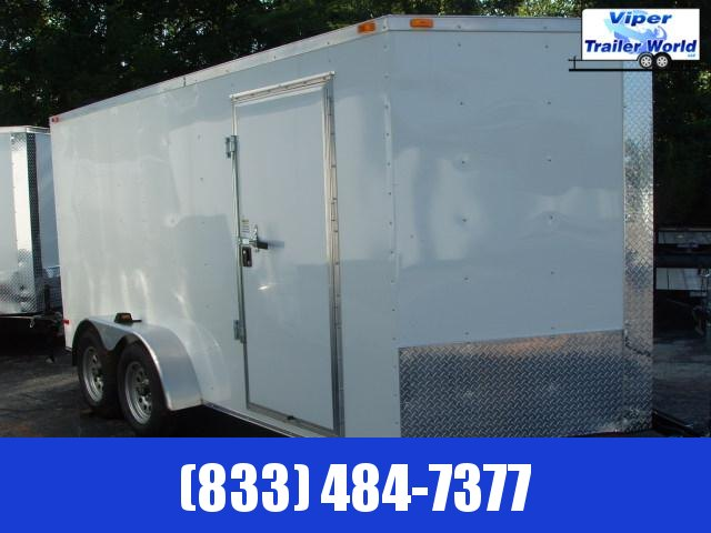 2021 Triple R 7X18 TA Enclosed Cargo Trailer