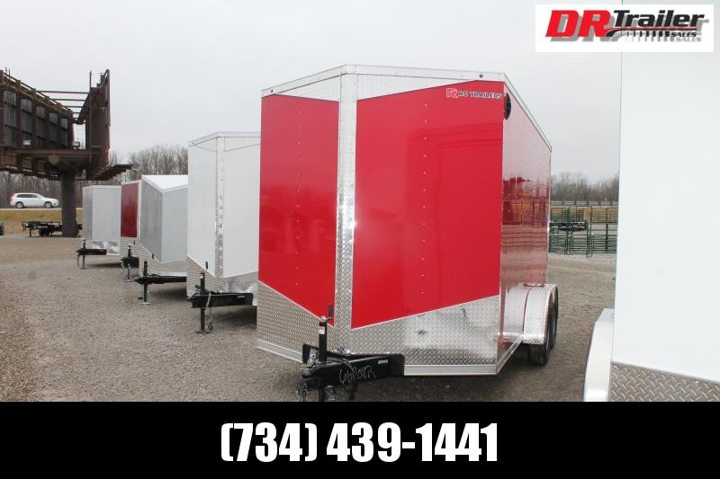 "2021 RC Trailers 7' X 14' + 12"" TA2 Enclosed Cargo Trailer"