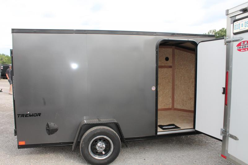 2021 Impact Trailers 6' X 12' RD Enclosed Cargo Trailer