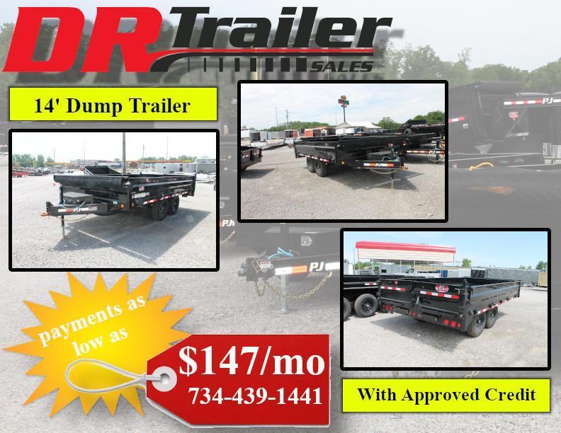 2020 PJ Trailers 14' DUMP Dump Trailer