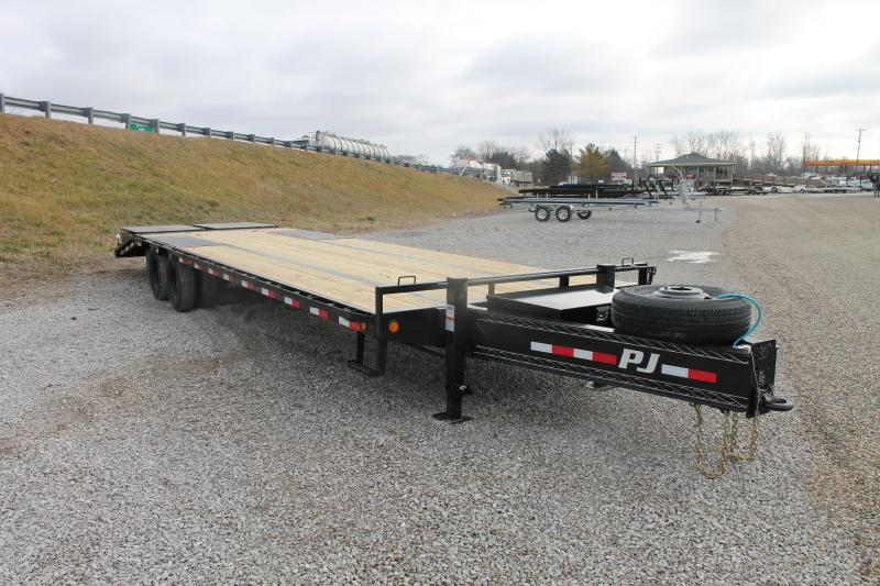 2021 PJ Trailers 30' MR 25K PL Flatbed Trailer